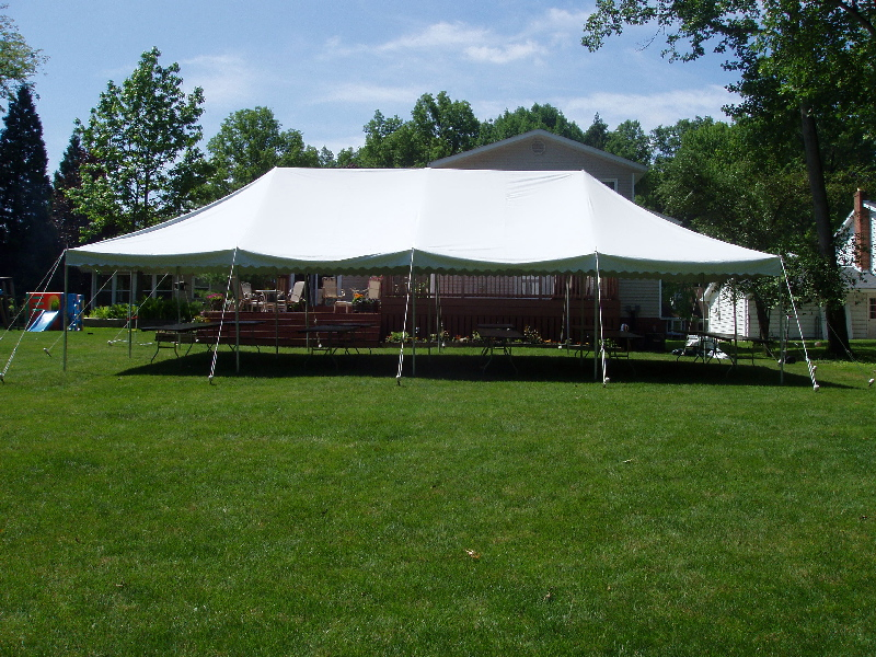 7 Top Tips For Throwing A Grand Party In A Small Home: Canopy Tents (Has Center Poles) Rentals