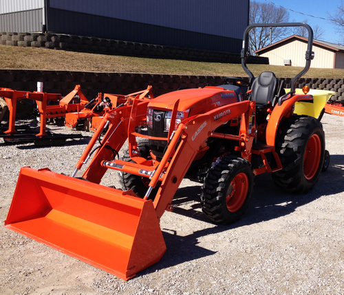 Grand Rental Station - Kubota tractors with boxblade included Rentals