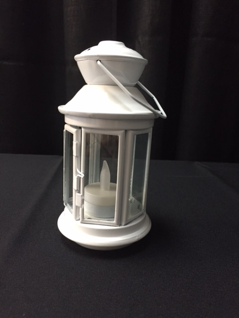 Grand Rental Station White Cylinder Star Lantern Rentals