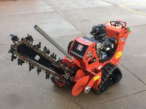 Grand Rental Station - Walk behind trencher, Ditchwitch